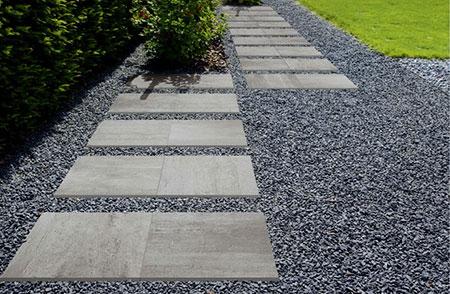 Piastre per camminamento giardino pavimenti per esterni guida